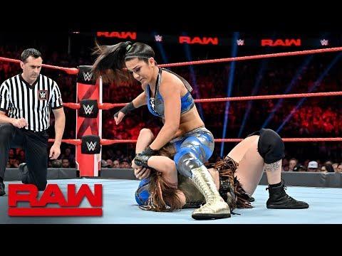 Bayley vs. Sarah Logan – Beat the Clock Challenge Match: Raw, July 8, 2019