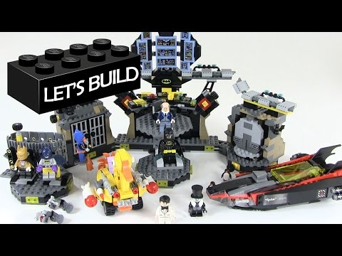 Let's Build the LEGO Batman Movie Batcave Break-In Set 70909