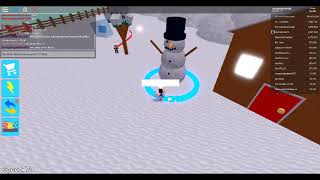 How to FIND THE SNOW MANS EYE ON SPEED CITY!! { on roblox }
