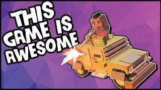 THIS GAME IS FREAKING AWESOME! Can We Restore Peace To The Desert? (Desert Kill Gameplay)