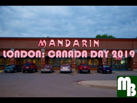 Mandarin London Canada Day 2019