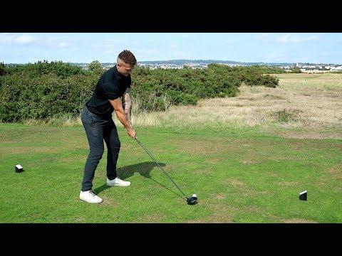 Long Drive Pro Plays Golf