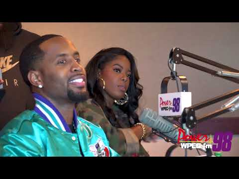 Safaree and Juju's Exclusive Interview with Power 98 FM