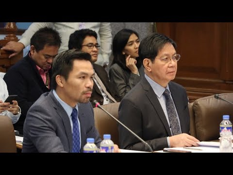 Senate hearing on alleged ROW issues in GenSan [Part 1] | Dec. 11, 2017