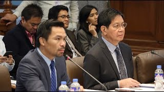 Senate hearing on alleged ROW issues in GenSan [Part 1], Dec. 11, 2017