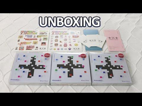 UNBOXING Target Exclusive Edition TXT 투모로우바이투게더 3rd Mini Album Minisode 1: Blue Hour Version R x 3