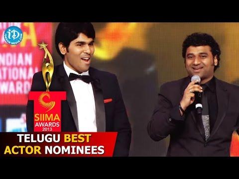 SIIMA Awards 2013 - Telugu Best Actor Nominees