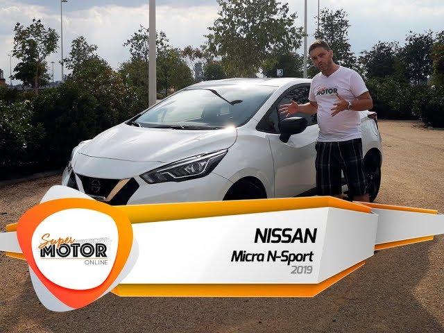 Nissan Micra N-Sport 2019 🏁/ Al volante / Review / Supermotoronline.com