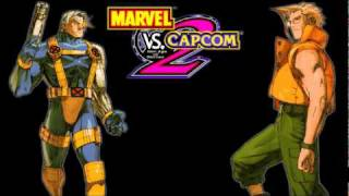 Marvel vs. Capcom 2 OST - Desert Stage