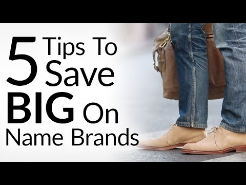 5 Tips To Save BIG On Name Brands | Buy Designer Brand Clothing Shoes & Luggage At Discounted Rates