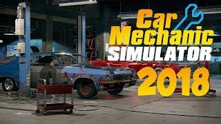 Обзор Car Mechanic Simulator 2018 | Симулятор автослесаря | Первый взгляд