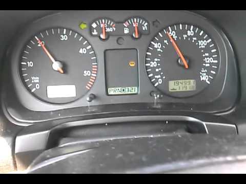 2000 Volkswagen Jetta TDI 1.9L Auto Shifting RPM's