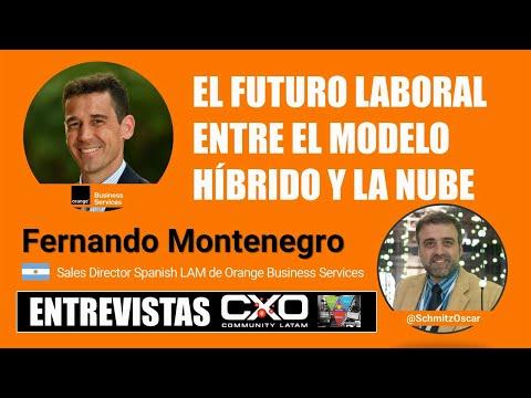 🎙️ Entrevista Fernando Montenegro 💪 El futuro laboral entre el modelo híbrido y la nube 🚀