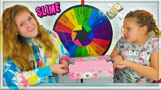 Last To Stop Making Slime Wins the Mystery Box !!!