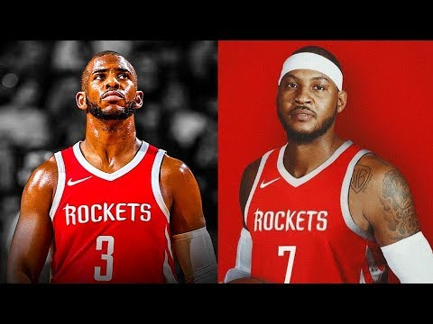 Chris Paul reacts to Carmelo Anthony Joining Rockets!