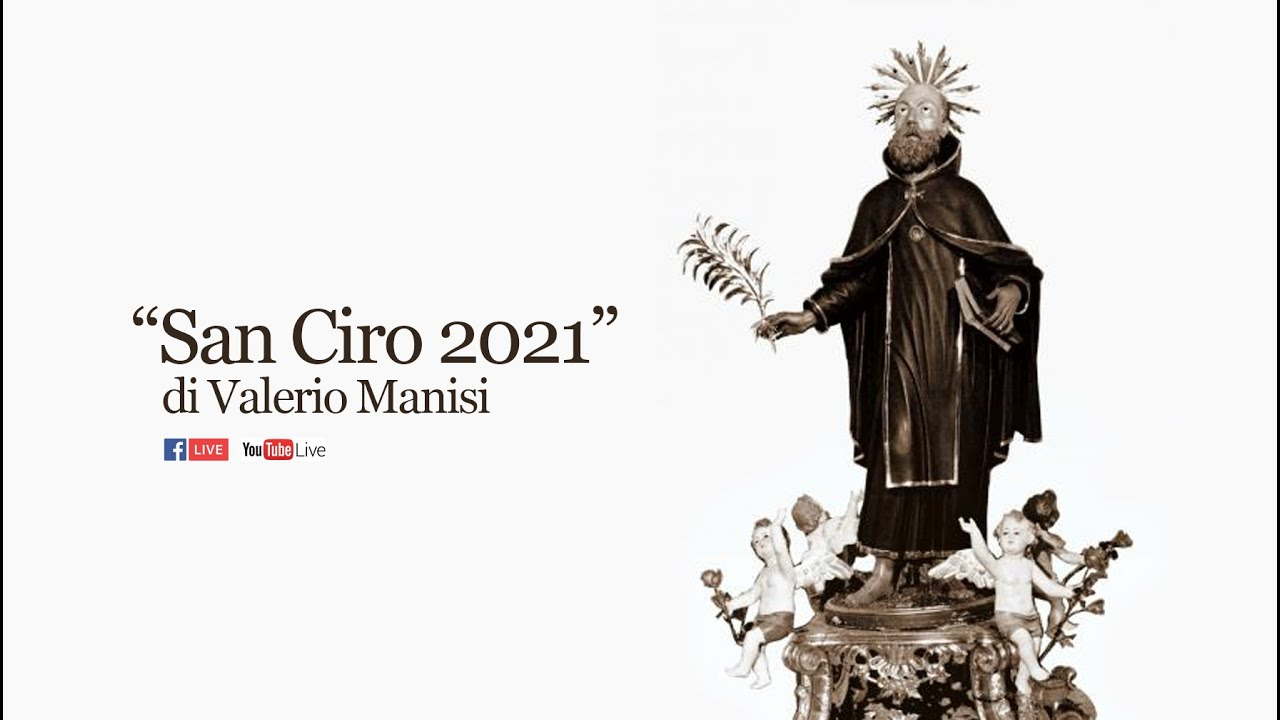 """Poesia vernacolare """"San Ciro 2021"""" di Valerio Manisi"""