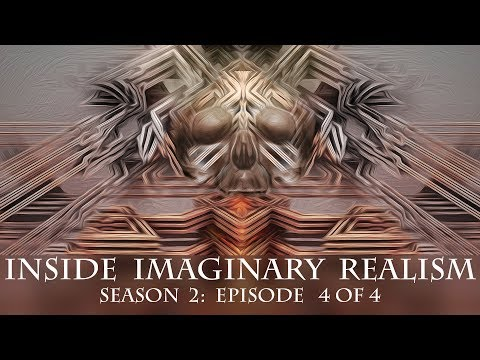Visionary art TV  presents: Inside Imaginary realism: featuring 9 Visionary artists.  S 2: Ep 4