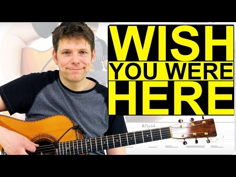 How To Play Wish You Were Here -THE RIGHT WAY- Guitar Lesson & TAB by Pink Floyd
