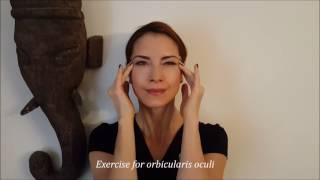 Yogattractive - Naturalny anti-aging joga twarzy - orbicularis oculi