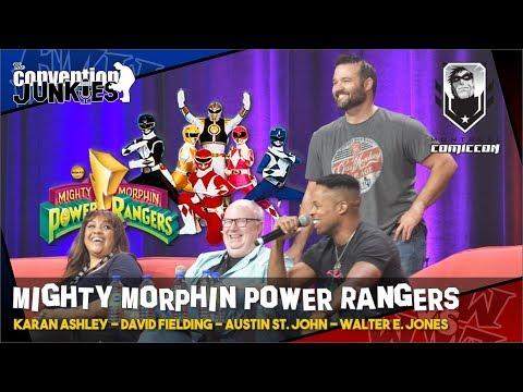 Power Rangers' Karan Ashley, David Fielding, Austin St John & Walter E Jones - Montreal 2019