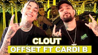 Offset - Clout ft. Cardi B | REACT / ANÁLISE VERSATIL FEAT BRTT