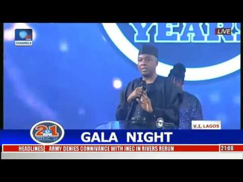 Bukola Saraki Speaks At Channels 21st Anniversary Celebration