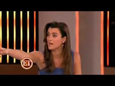 Michael Weatherly and Cote de Pablo on the ET Stage.mp4