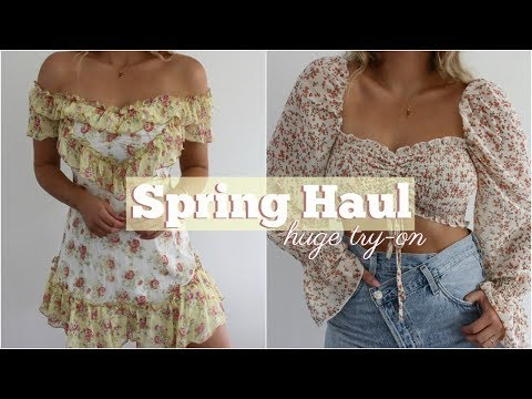 Huge Spring Try-On Haul!
