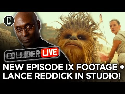 New Star Wars: Rise Of Skywalker Footage! + Lance Reddick In Studio - Collider Live #268