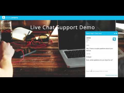 Wix Live Chat By Social Intents