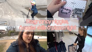 PREGNANCY NIGGLES, SCOOTER SKILLS & PIZZA NIGHT | DAY IN THE LIFE