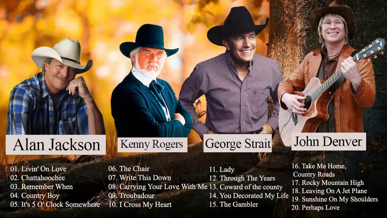 John Denver Alan Jackson George Strait Best Of Best Country
