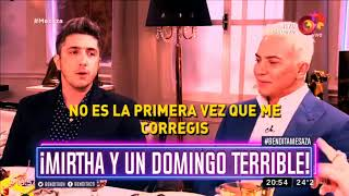 ¡Mirtha y un domingo terrible!