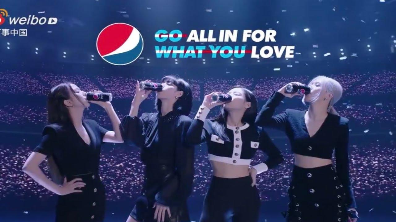 BLACKPINK CHINA PEPSI COMMERCIAL – Quảng cáo Blackpink Pepsi tại Trung Quốc