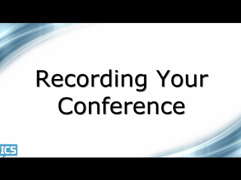 WisLine Anytime Web - Recording Conferences