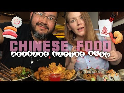 Racists? CHINESE FOOD & SUSHI ~ Mukbang Eating Show 먹방