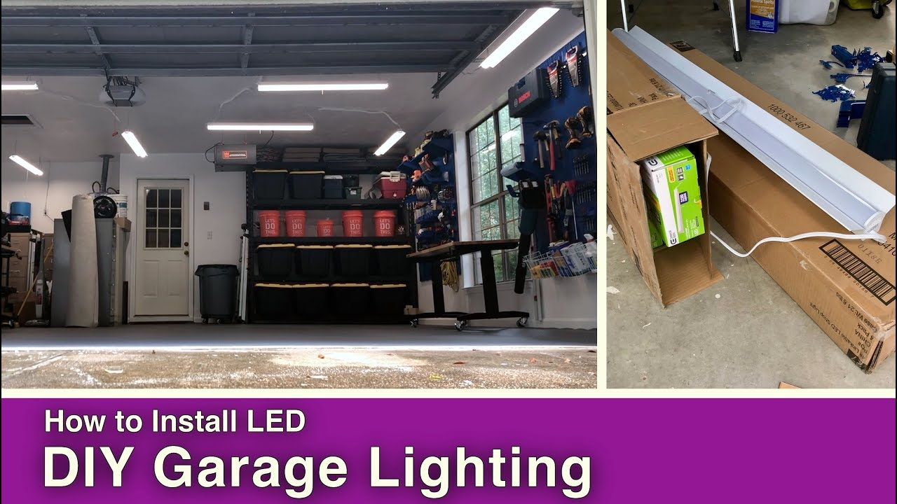How To Install Garage Lighting Mother Daughter Projects