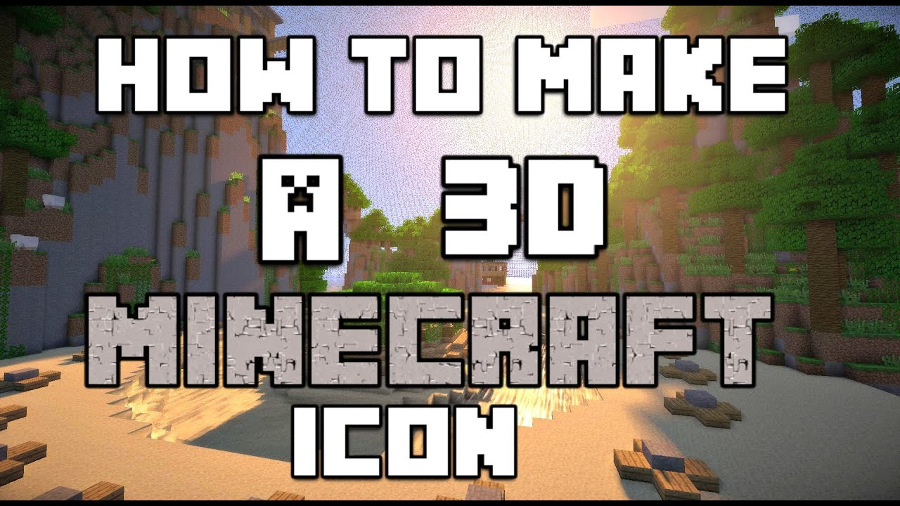 how to get a minecraft icon