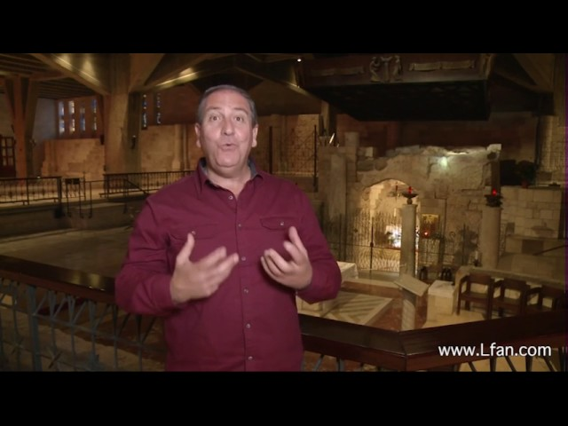 25- كنيسة البشارة الموضع الذي تحدث فيه الملاك مع العذراء