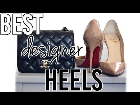 designer heel sale