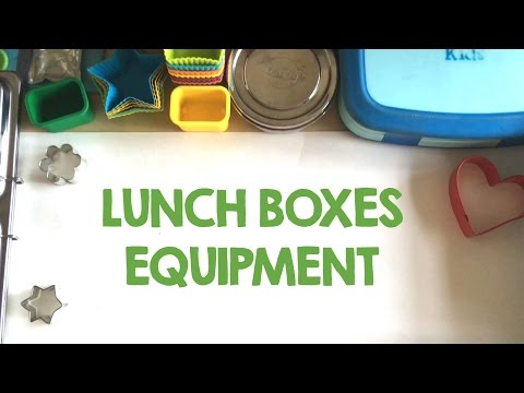 Lunch box containers - back to school #2