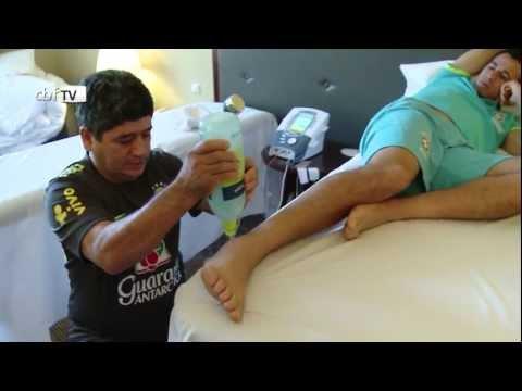 Odir de Souza, fisioterapeuta da Seleção