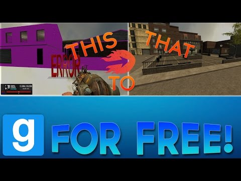 How To Fix ALL of the Missing Texture Errors In Garry's Mod! FREE! (2017)