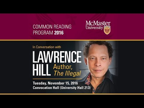 In Conversation with Lawrence Hill