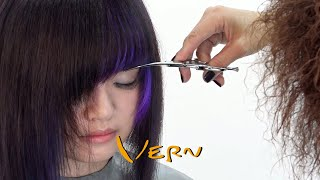 A-LINE BOB with straight - across bangs haicut - Vern hairstyles 44
