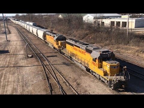 Railfanning Around Milwaukee, WI Part 1  3/17/18 and 3/18/18