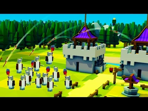 Beating the Vikings! Archer Towers and Kingdom Redesign - Kingdoms and Castles Alpha Gameplay Ep 3