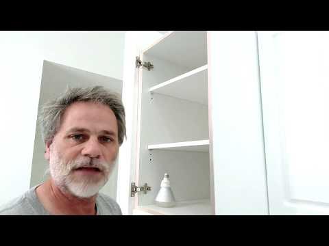 How to remove kitchen cabinet doors