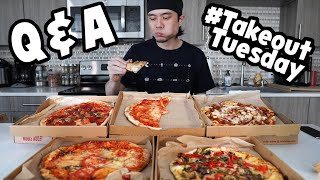 5 Whole Pizzas + Q&A (#TakeoutTuesday ep.2)