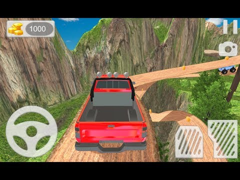 mountain hill climb race car driving games 4 kids android mobile game